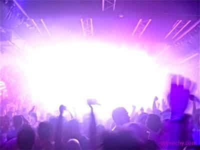 effets scéniques clubbing