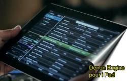 logiciels pour DJ. denon engine ipad