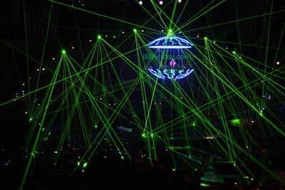 effet scenique pour DJ