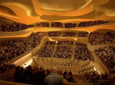 La Philharmonie de Paris Intérieur Grande salle 2