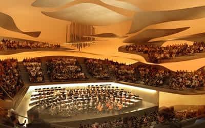 La Philharmonie de Paris Intérieur Grande salle 1