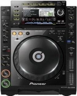 La platine DJ Pioneer CDJ 2000, un lecteur CD multi-formats platine dj