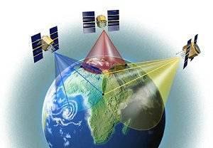 Segments GPS, triangulation GPS