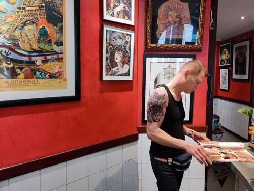 cover-up ou recouvrement tatouage panthère