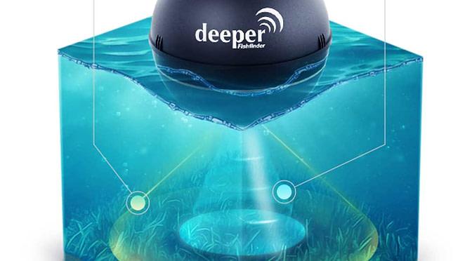 Un sonar pour la pèche portable et connecté