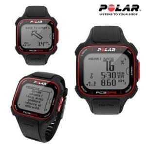 La montre Polar RC3 GPS a un design mince, elle est Multisport et très légère